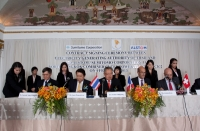 Contract signing ceremony for the 850 MW North Bangkok CCPP; source: alstom.com