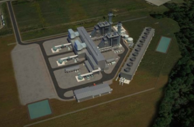 The Trumbull power plant project