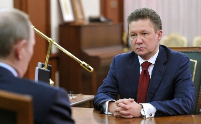 Gazprom CEO Alexi Miller discusses Nord Stream plans with President Putin