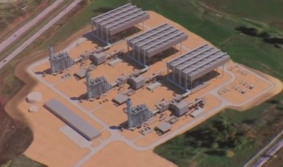 Render of Guernsey Power Station