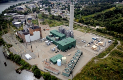 The Springdale power station [source: FirstEnergy]
