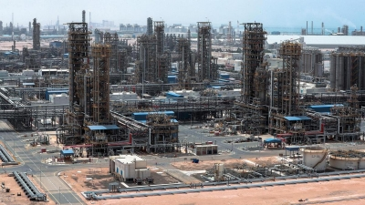 Ruwais refinery complex in the UAE