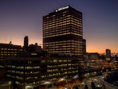DTE Energy headquarters in Detroit