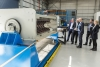 MAN executives tour the new workshop near Sydney