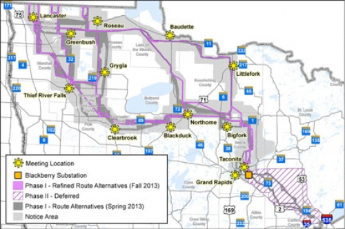 Great Northern Line To Enhance Us Canada Power Grid Integration