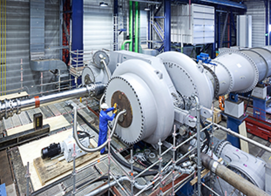 World S Largest Rotor Manufactured For Saudi Aramco Igcc