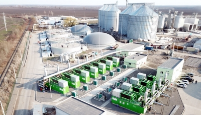 Zorg Biogas plant, based on 18 Jenbacher engines