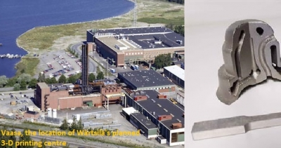 Wärtsilä plans to create Research Centre for 3D metal printing in Vaasa
