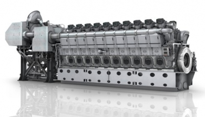 MAN 20V45/60, the world's most powerful four-stroke engine