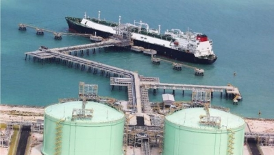 PTT's LNG import terminal in Map Ta Phut, Rayong province