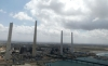 View of the Orot Rabin power station at Hadera, Israel.