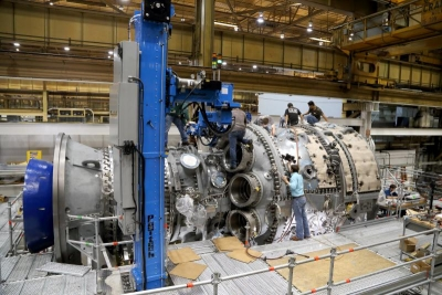 Two HA-class turbines will power the 875-MW Tierra Mojada plant