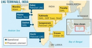 H-Energy, K-Line team up to build FSRU on the East Coast of India