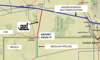 US-Mexican gas interconnector launches open season