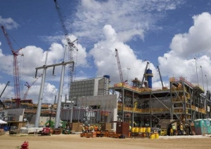 Construction at Duke's Crystal River Energy Complex