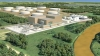 Render of the 525-MW CCGT at Superior