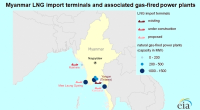 Second LNG cargo en route to Myanmar as power sector diversifies