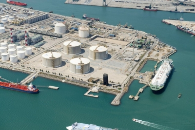 Enagas LNG terminal in Barcelona