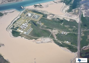 Render of Texas LNG project