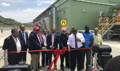 Inauguration of Port Moresby Power Station