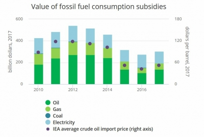 "IEA sees reforms to fuel subsidies ""coming under threat"""