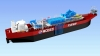 Render of Modec's LNG power plant ship