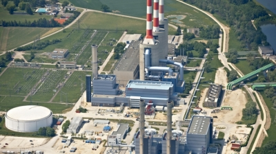 View of Uniper's Irsching power complex