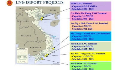 Vietnam asks Japan for help with developing LNG-to-Power projects