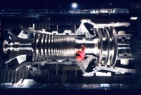 GE 9FA Heavy Duty Gas Turbine; source: ge-energy.com