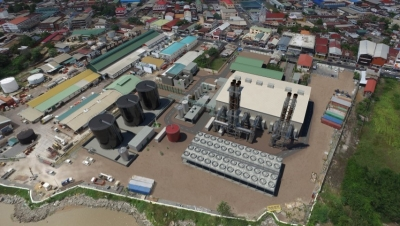 DPP2 Bemland power plant capacity in Suriname's capital, Paramaribo.
