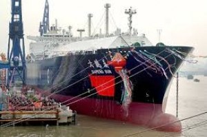 Dapeng Sun, China's first self-built LNG carrier
