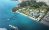 Rendering of LNG-to-Power project at Tongyeong