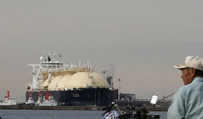 Japanese LNG imports drop as utilities prefer coal for power gen