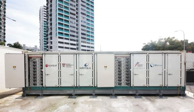 Singapore's first utility-scale energy storage