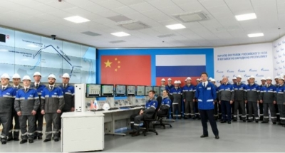 Gazprom launches $55 billion 'Power of Siberia' pipeline to China