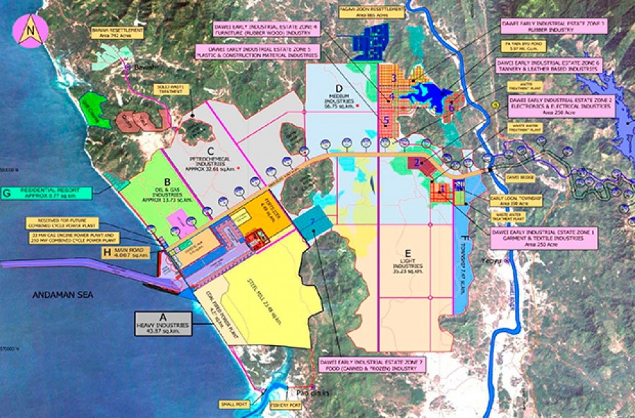 Myanmar Permits First Thai Operated Power Plant In Dawei