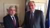 Dr Fatih Birol met the Greek energy minister, George Stathakis, in Athens