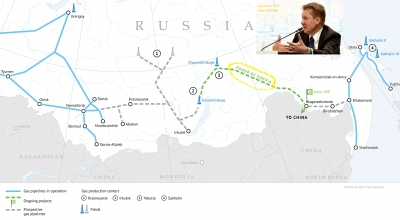 Gazprom CEO claims China prefers pipeline gas over LNG