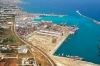 View of Vassilikos port in Greek Cyprus