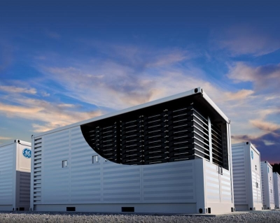 GE's new 'Reservoir' energy storage condenses 4MWh into a 20'box