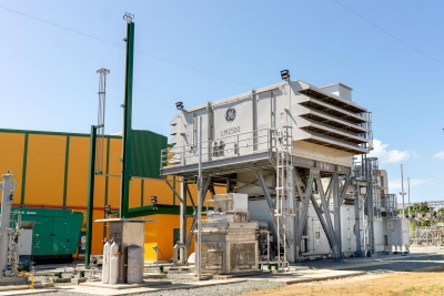 GE delivers first aero-derivative gas turbine to Tobago