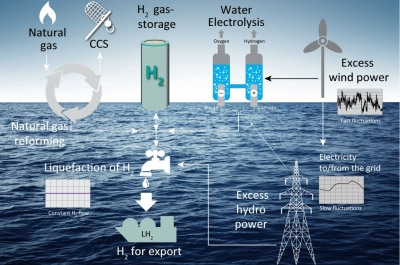 Hydrogen technology strongly linked to CCS