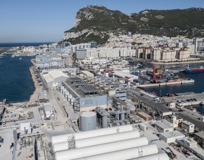 New LNG terminal feeds Gibraltar's power plant