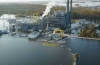 Photo released by Duke Energy, showing Sutton Plant inundated by flood waters