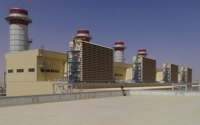 GECOL's Ubari gas power station (640 MW)