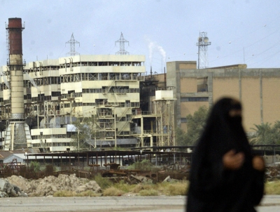 One of Iraq's aging power stations