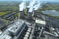 Aerial site view of Drax Power Station