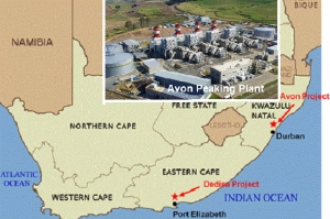 Start of Avon Peaking Power boosts South Africa's energy security