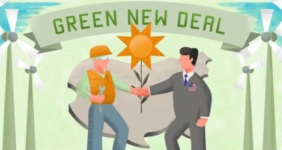 Bernie Sanders seeks to sway voters with $16.4 trillion Green New Deal