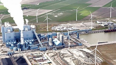 RWE's Eemshaven power plant (1,560MW)